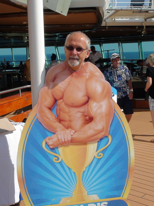 Pumping iron is working out - Vision of the Seas