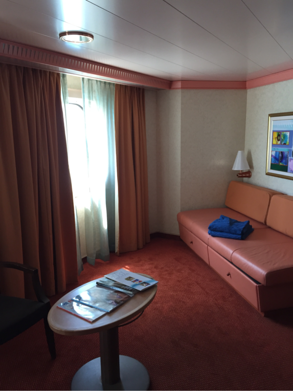 Oceanview Cabin 2473 On Carnival Liberty Category 6b