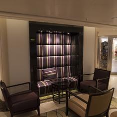 Seating, deck 5, atrium