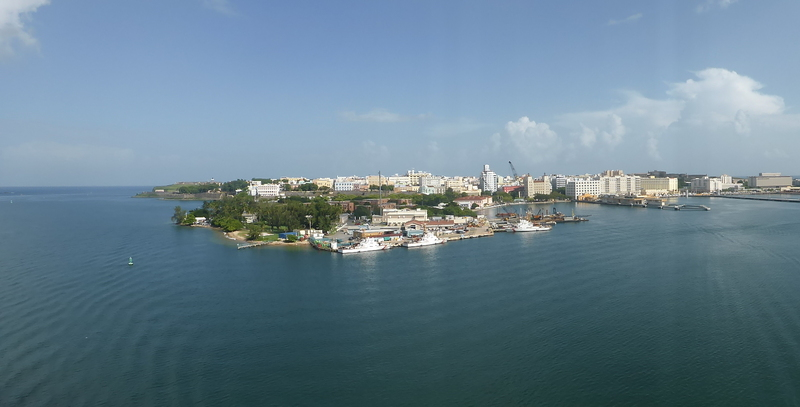 View From Ship - Carnival Dream