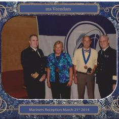 San Diego, California - On Board the Veendam