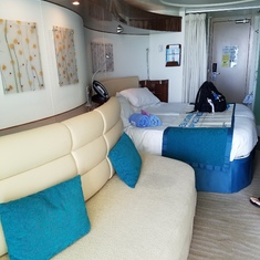 Our balcony cabin