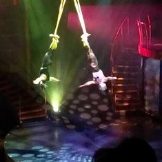 Great show aboard Celebrity Silhouette