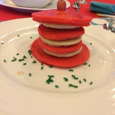 Dr. Seuss Breakfast (Tuffula Tree Pancakes)