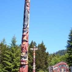 Ketchikan, Alaska - Saxman Totems