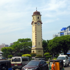 100-year old clock tower