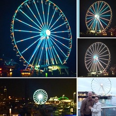 The Great Wheel in Seattle, WA