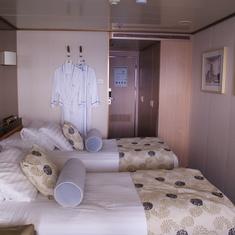 Lanai room on the Veendam