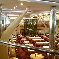 Main dining room aboard Celebrity Silhouette