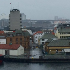 Stavanger, Norway - Overcast spring weather