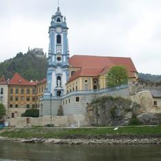 Stiftskirche, Durnstein, Austria