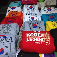 Souvenirs in South Korea.