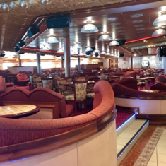 Victoria Aft Lounge on Carnival Liberty
