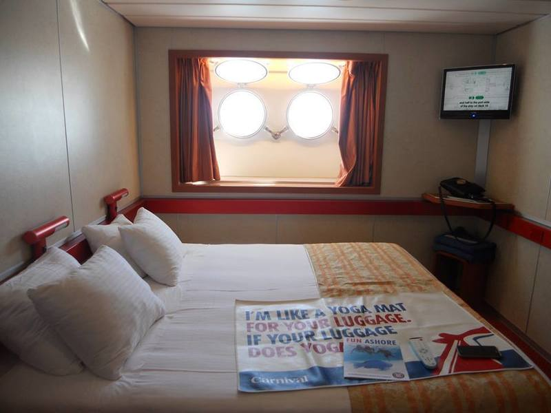 Inside Cabin E9 On Carnival Sensation Category Pc