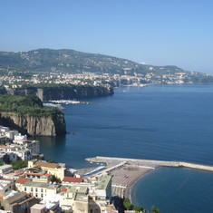 Naples, Italy - Beautiful Amalfi Coast