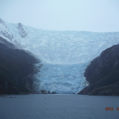 Cruise Strait Of Magellan - glacier from my balcony