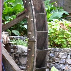 Ornamental mill wheel