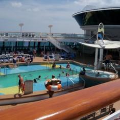Deck 11 pool