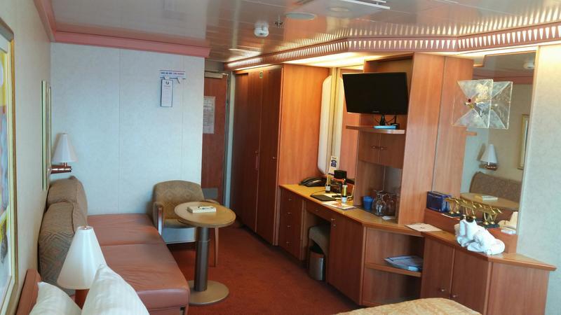 Carnival Liberty cabin 1263
