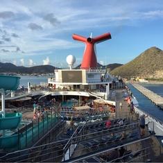 Carnival SeasideTheater on Carnival Liberty