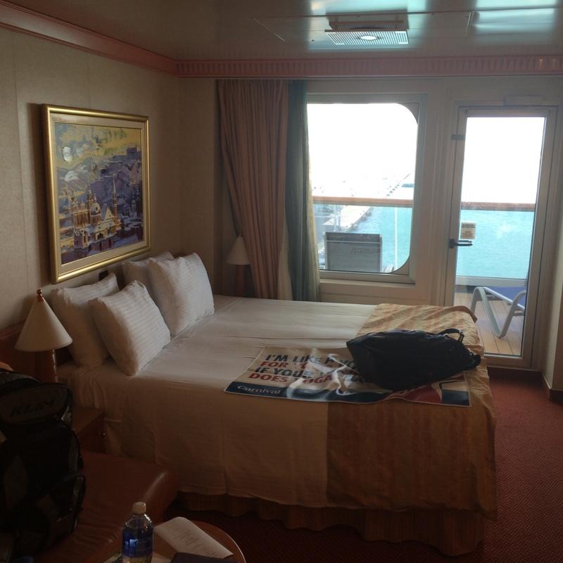 Carnival Splendor cabin 8450