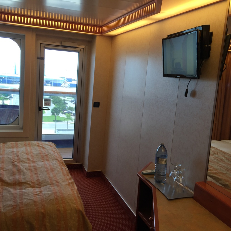 Carnival Splendor cabin 8352