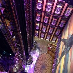 Odyssey Lounge on Carnival Legend