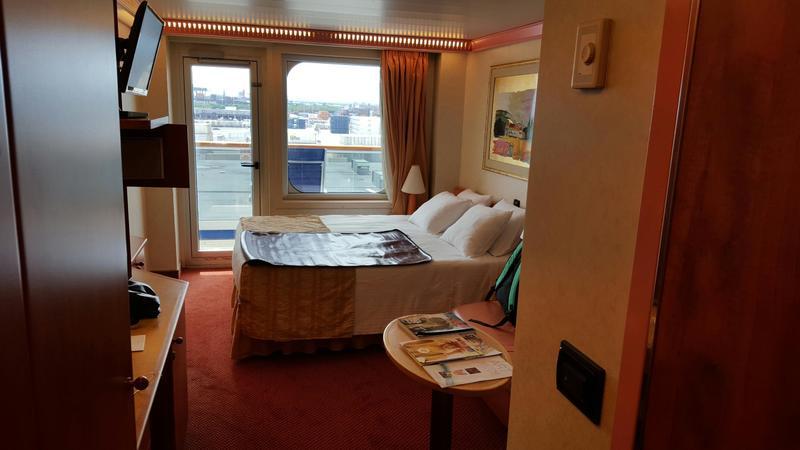 Carnival Conquest cabin 6371