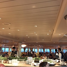 Main Dining Room on Rhapsody of the Seas