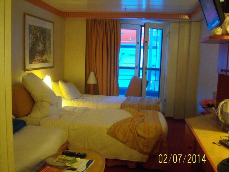 Inside Cabin 4142 On Carnival Miracle Category 4k