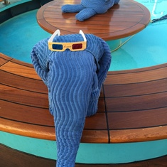 Pool on Carnival Freedom