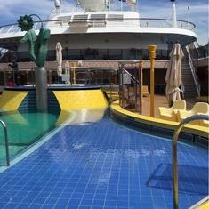 Pool on Costa Atlantica