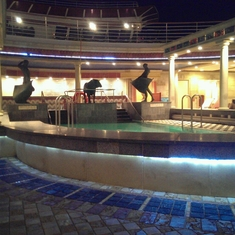 Solarium on Explorer of the Seas