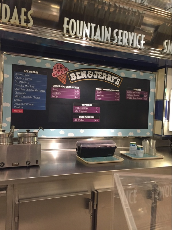 Ben and Jerry''s on Liberty of the Seas