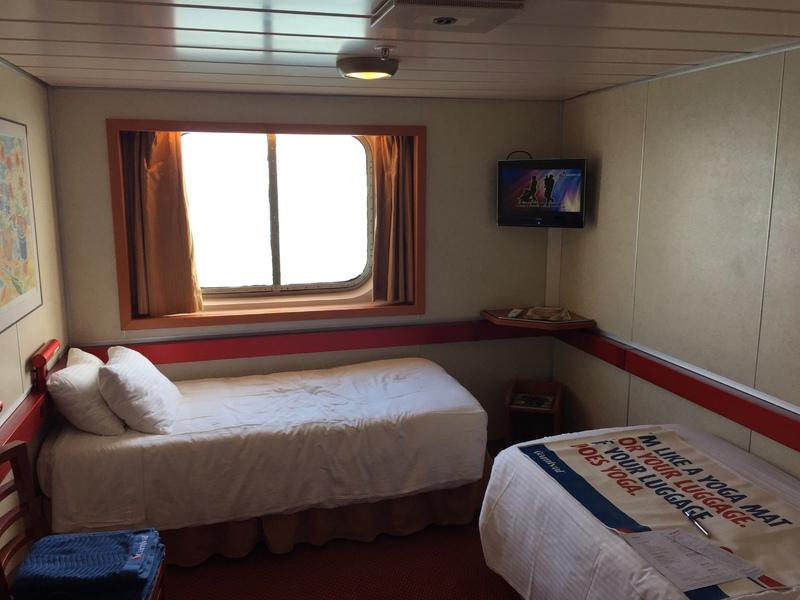 Oceanview Cabin E218 on Carnival Imagination, Category 6D