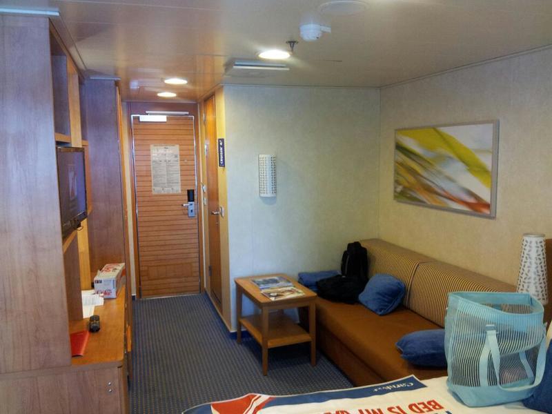 Carnival Breeze cabin 2354