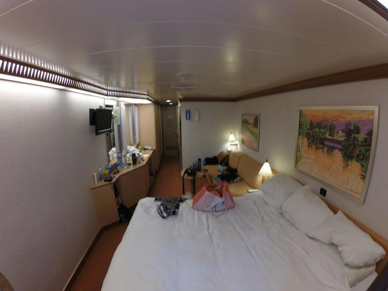 Deluxe Oceanview Stateroom Cabin Category 6l Carnival Dream