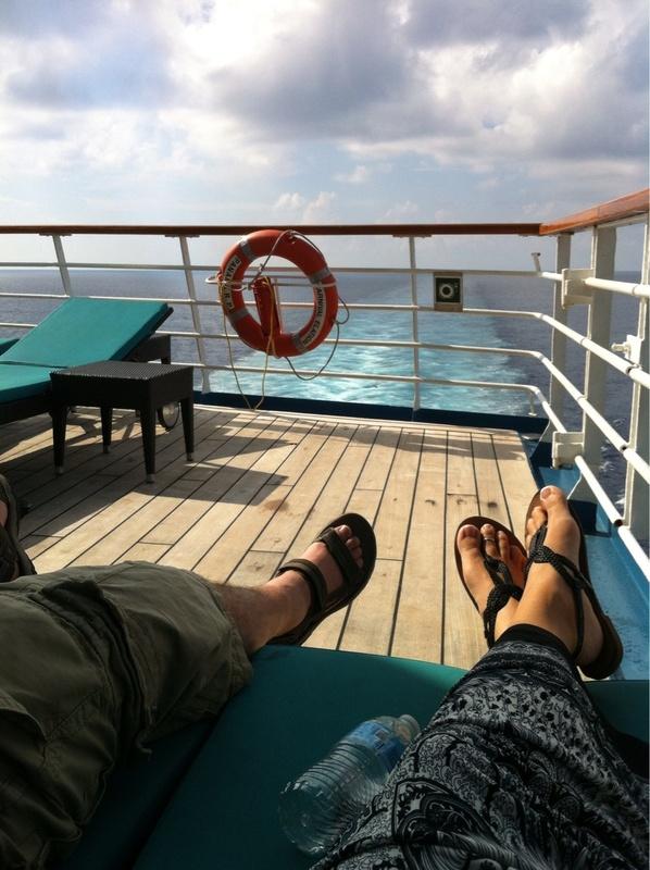 Serenity deck - Carnival Elation