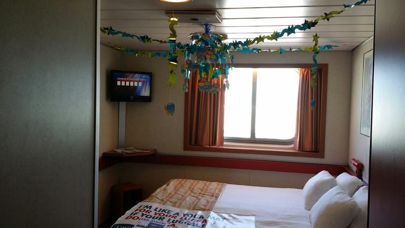 Oceanview cabin e152 on carnival sensation category 6e - Carnival sensation interior rooms ...