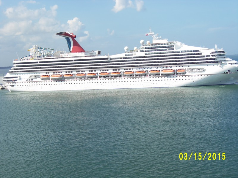 Carnival at Port Canaveral - Carnival Liberty