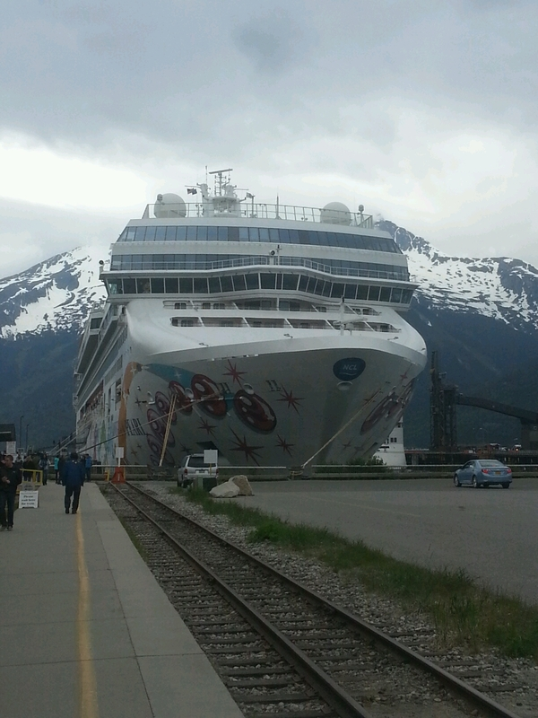 Skagway, Alaska - Norwegian Pearl in Scagway