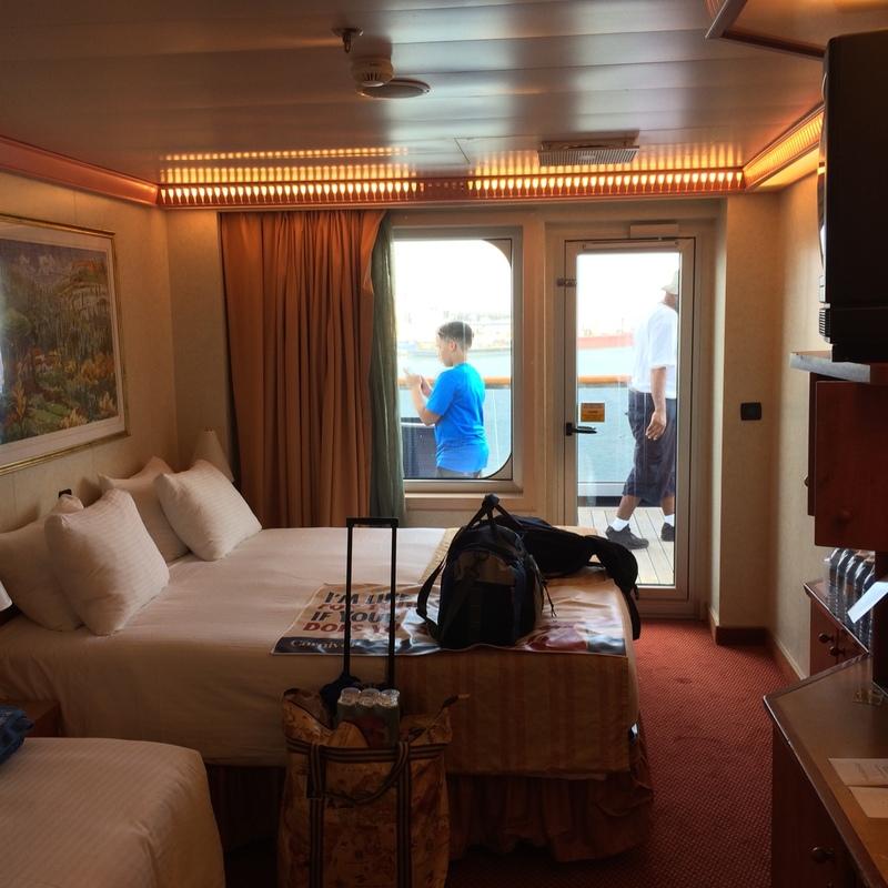 Carnival Valor cabin 8450