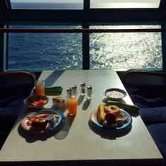 Seaview Cafe on Brilliance of the Seas