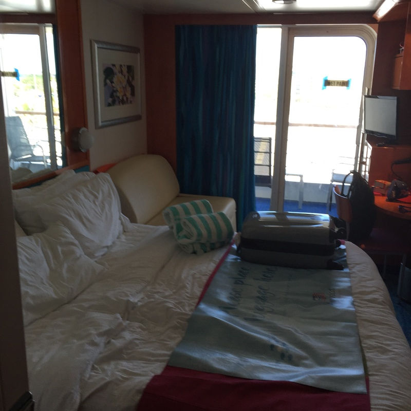 Balcony Cabin 9176 On Pride Of America Category 52