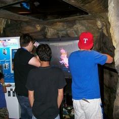 Underground Tokyo Video Arcade on Carnival Triumph