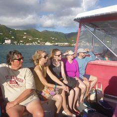 Excursion boat for Virgin Gorda