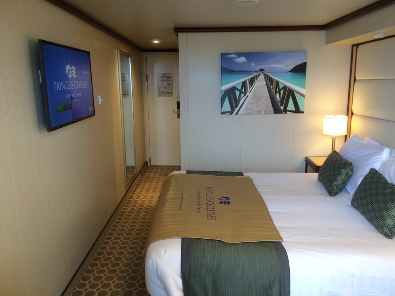 Balcony Stateroom on Regal Princess