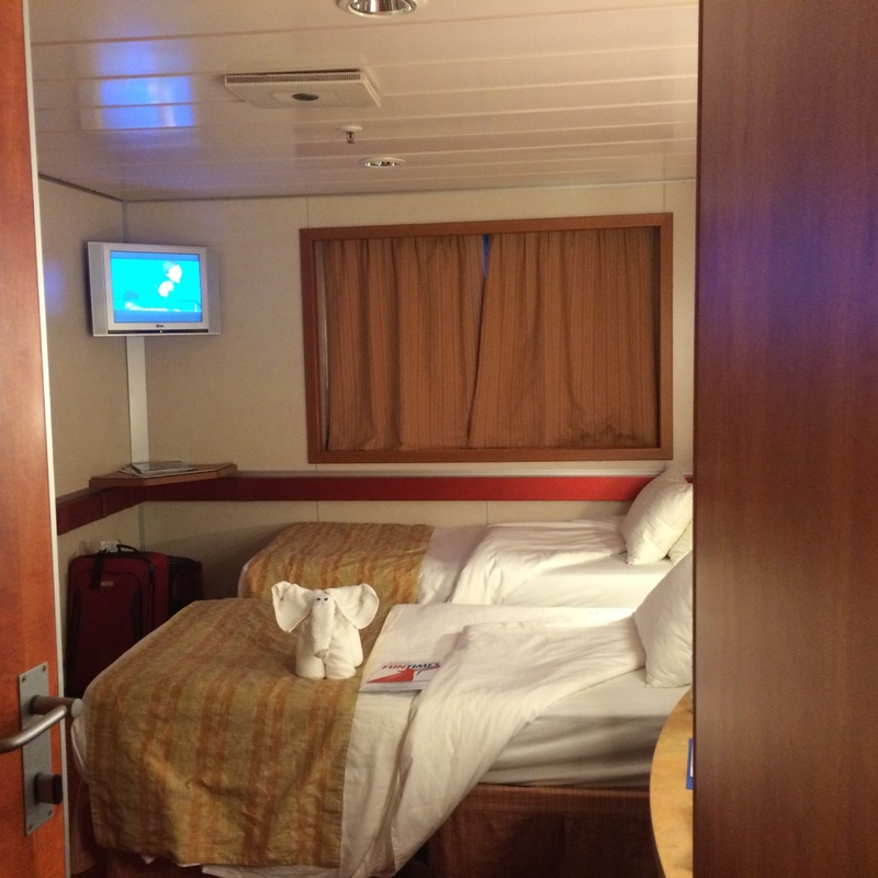 Oceanview Cabin M102 On Carnival Fascination Category 6c
