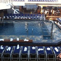 Tivoli Pool on Carnival Liberty