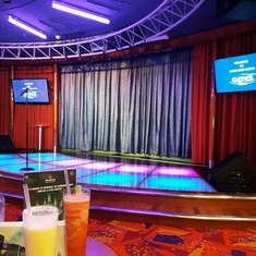 On Air Club on Freedom of the Seas